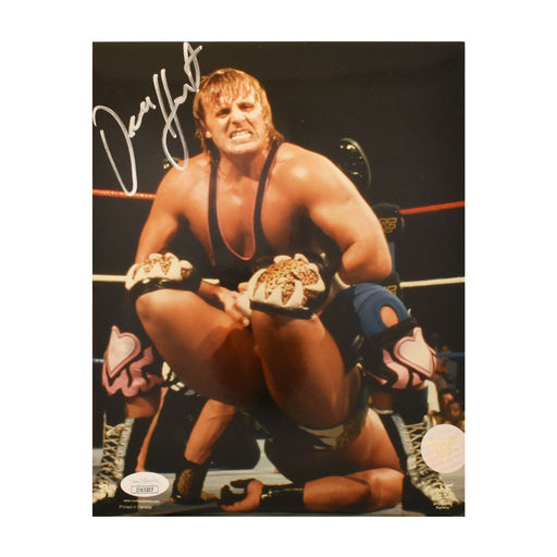 Owen Hart Signed 8x10 Photo (JSA)