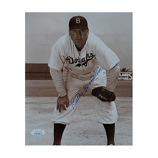 Billy Herman Signed Los Angeles Dodgers Pose 8x10 Photo (JSA)