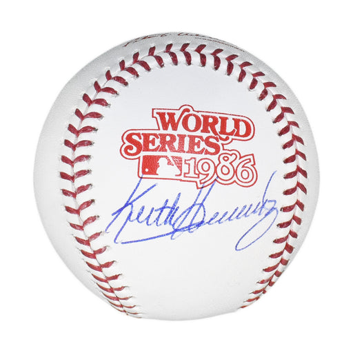 Keith Hernandez Signed Official 1986 World Series Major League Baseball (JSA)