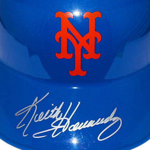Keith Hernandez New York Mets Autographed Souvenir Full Size Baseball Batting Helmet (JSA)