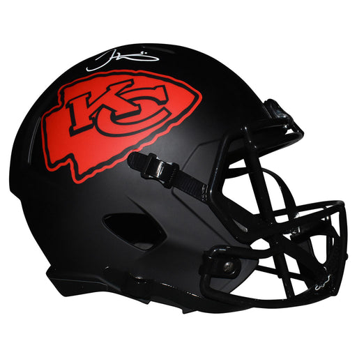 Tyreek Hill Signed Kansas City Chiefs Eclipse Speed Full-Size Replica Football Helmet (JSA)