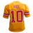 Tyreek Hill Autographed Gold Football Jersey (JSA)