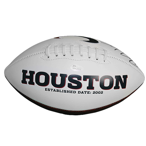 DeAndre Hopkins #10 Houston Texans Football (JSA-Certified)