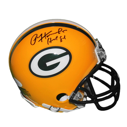 Paul Hornung Autographed Green Bay Packers Mini Helmet W/HOF Insc (JSA)