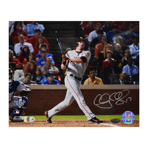 Aubrey Huff 17 Signed 8x10 Photo (AIV)