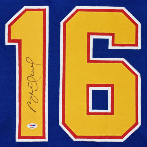 Brett Hull Signed St. Louis Blue Hockey Jersey (PSA)