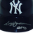 Reggie Jackson New York Yankees HOF-93 Autographed Full Size Souvenir Baseball Batting Helmet (JSA) HOF Inscription