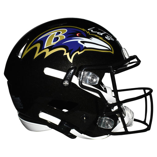 Lamar Jackson Signed Baltimore Ravens Authentic Full-Size Speed Flex Football Helmet (JSA)