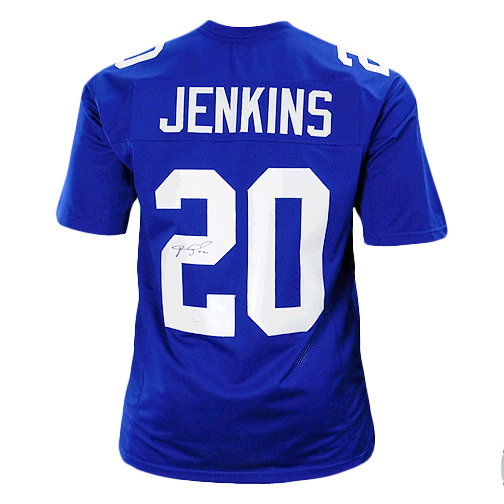Janoris Jenkins Signed Pro Edition Blue Football Jersey (JSA)