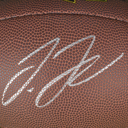 Jerry Jeudy Signed Official NFL Football (JSA)