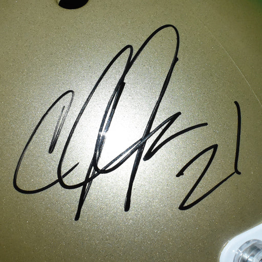 Calvin Johnson Signed Georgia Tech Full-Size Schutt Football Helmet  (JSA)