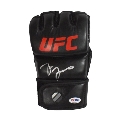 Jon Jones Signed UFC MMA Glove Black-Out (PSA)