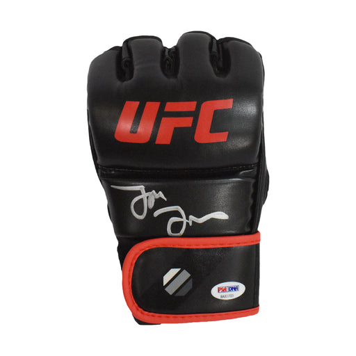 Jon Jones Signed UFC MMA Glove Red Trim (PSA)