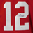 Cardale Jones Signed Red College-Edition Stats Jersey (JSA)