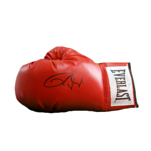 Roy Jones Jr Autographed Boxing Glove Red JSA Authenticated  MISC