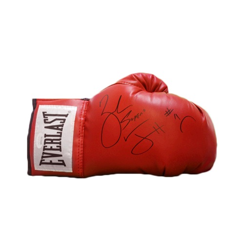Zab Judah Autographed Red Boxing Glove (JSA)