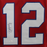 Jim Kelly Autographed pro style Football Jersey Red (JSA)