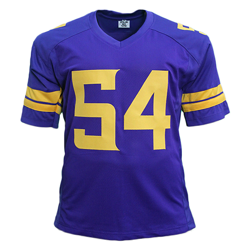 Eric Kendricks Autographed Pro Style Football Jersey Color Rush (JSA)