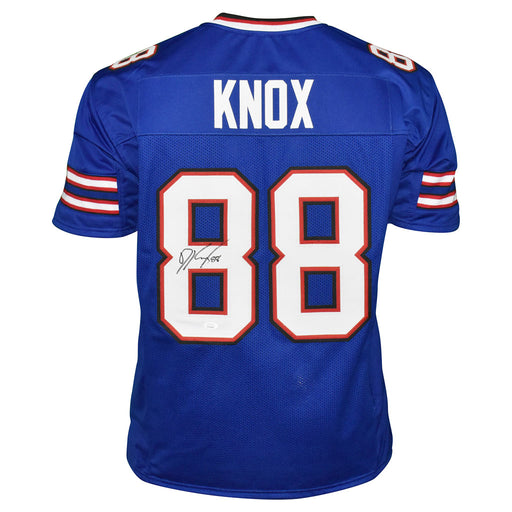 Dawson Knox Signed Buffalo Pro Blue Football Jersey (JSA)