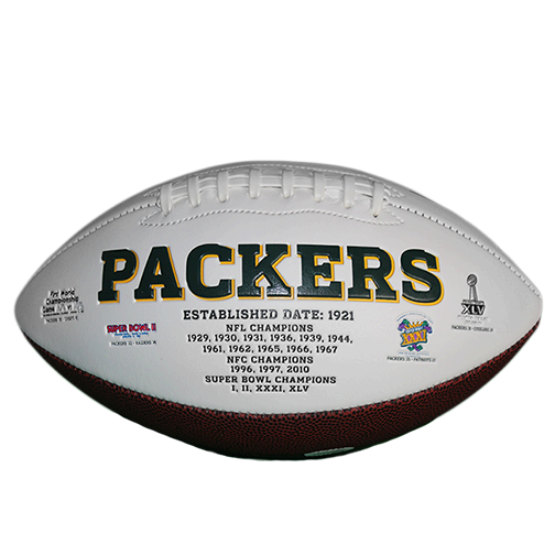Jerry Kramer #64 Green Bay Packers '18 Hall of Fame Football (JSA)