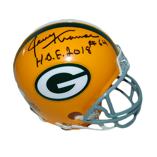 Jerry Kramer Signed HOF '18 Packers Mini Replica Helmet (JSA)