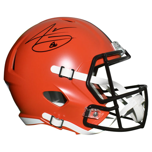 Jarvis Landry Signed Cleveland Browns Full-Size Speed Replica Football Helmet (JSA)