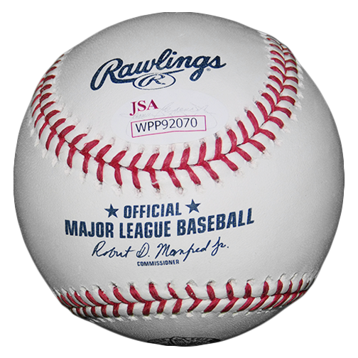 Tommy Lasorda Autographed Official Major League LA Dodgers 60th Anniversary Baseball (JSA)