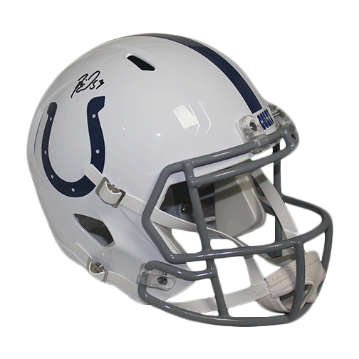 Darius Leonard Autographed Full Size Replica Speed Football Helmet (JSA)