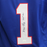 Marv Levy Buffalo Bills Autographed Football Jersey Blue (JSA) HOF Inscription
