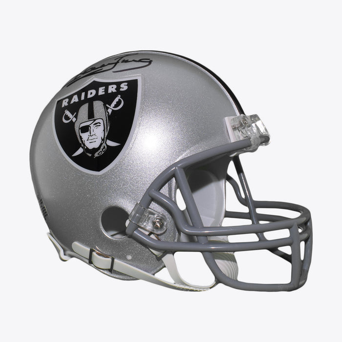 Howie Long Signed Oakland Raiders Mini Football Helmet (JSA)
