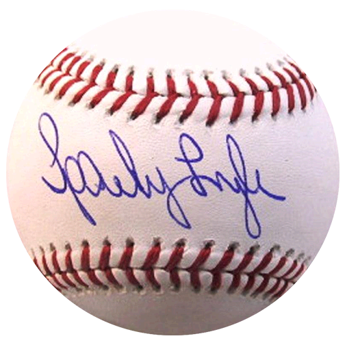Sparky Lyle New York Yankees Autographed Official Major League Baseball (JSA )