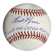 """24 Hour Close Out Deal"" Fred Lynn Autographed Official Rawlings Baseball (JSA COA) Rare ""I Love The Green Monster"" Inscription Included!"