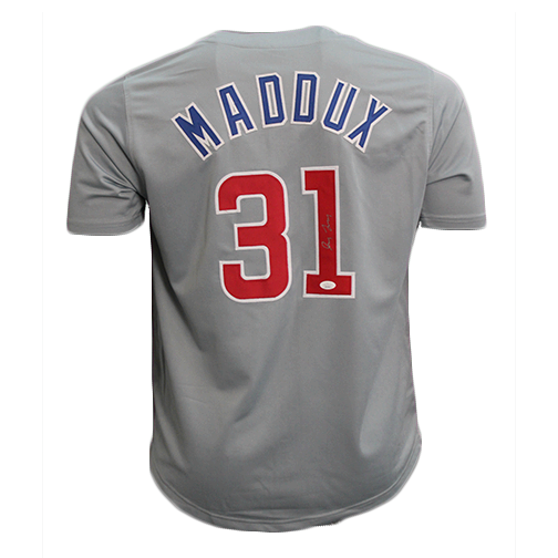 size 40 4aab2 62cfa All Remaining Autographed Greg Maddux Jerseys Marked Down ...