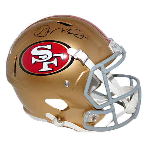 Joe Montana #16 San Francisco 49ers Replica Full-Size Speed Football Helmet (JSA-Certified)