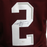 Johnny Manziel Autographed College Football Jersey Maroon (JSA)