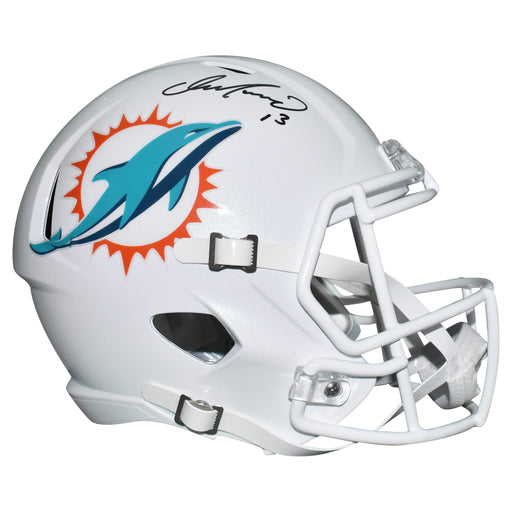 Dan Marino Signed Miami Dolphins Full-Size Speed Replica Football Helmet (JSA)