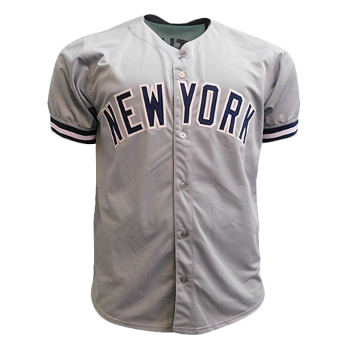 Don Mattingly Autographed Grey Baseball Jersey (JSA)