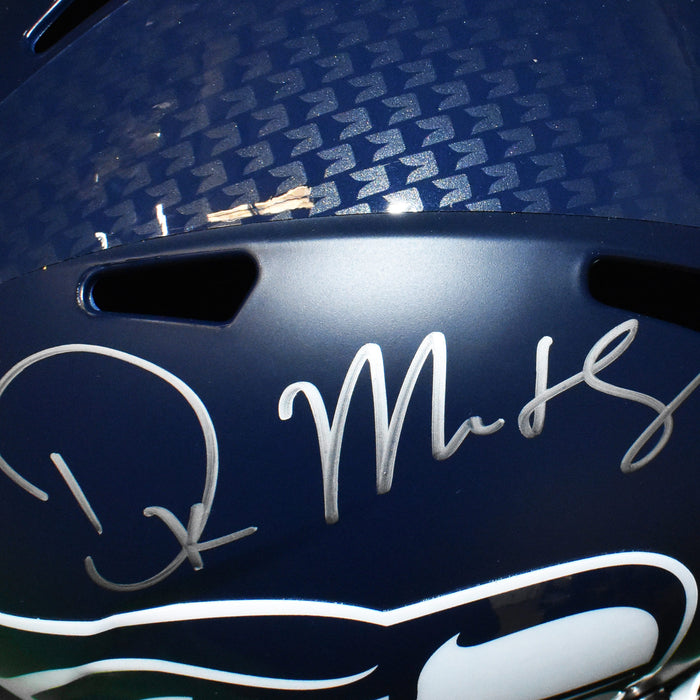 DK Metcalf Signed Seattle Seahawks Full-Size Speed Football Helmet (JSA)