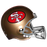 Joe Montana San Francisco 49ers Replica Full-Size Football Helmet (JSA)
