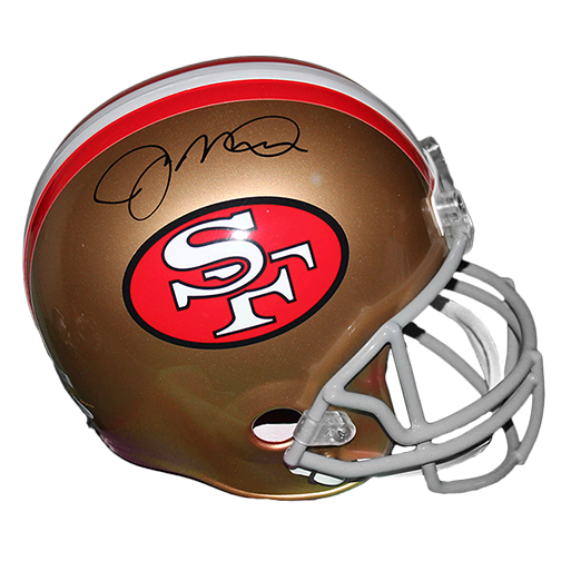 Joe Montana #16 San Francisco 49ers Replica Full-Size Football Helmet (JSA-Certified)