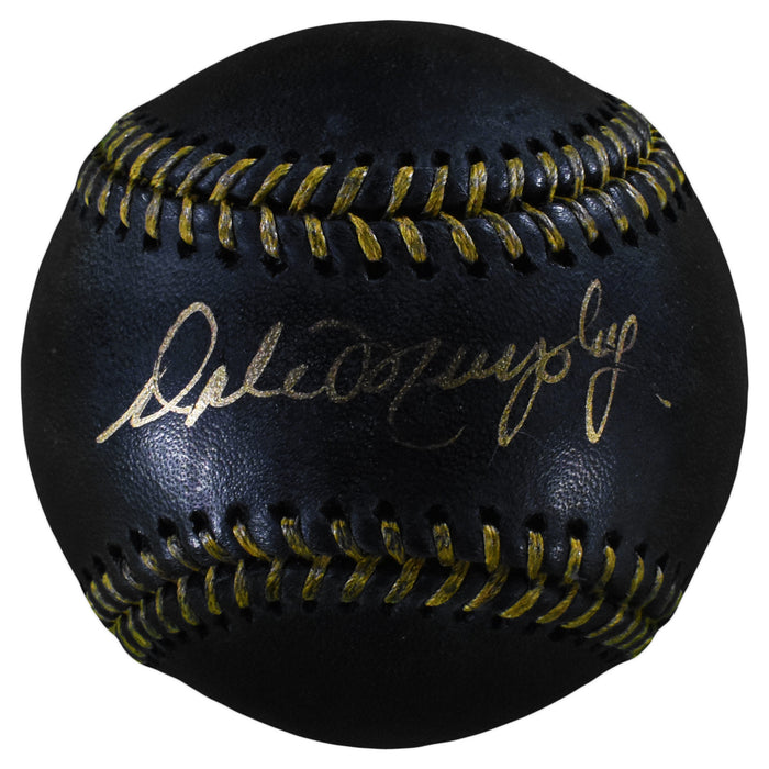 Dale Murphy Signed Rawlings Official MLB Black & Gold Baseball (PSA)