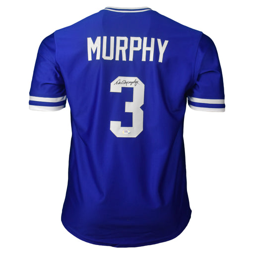 Dale Murphy Signed Atlanta Royal Blue Baseball Jersey (PSA)
