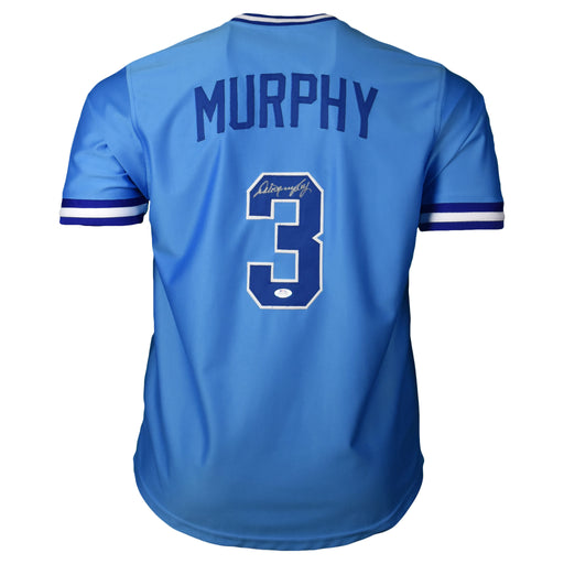 Dale Murphy Signed Atlanta Light Blue Baseball Jersey (PSA)