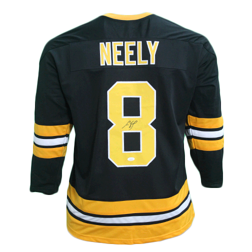 Cam Neely Boston Autographed Hockey Jersey Black (JSA COA)