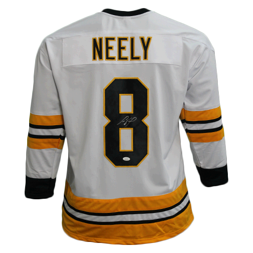 Cam Neely Boston Autographed Hockey Jersey White (JSA)