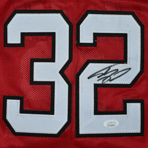 Shaquille O'Neal Signed Miami Pro Red Basketball Jersey (JSA)