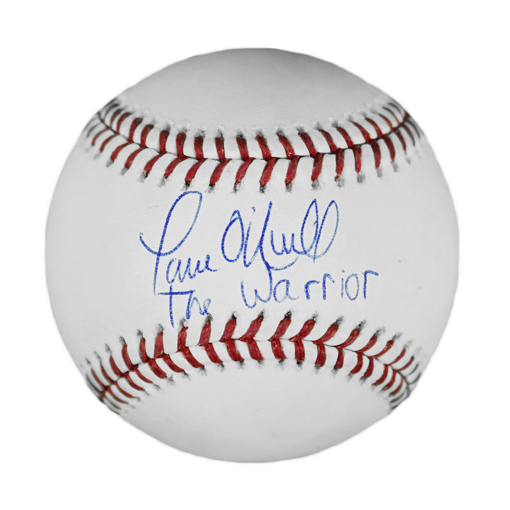 Paul ONeill Signed The Warrior Inscription Official Major League 2000 World Series Baseball (JSA)