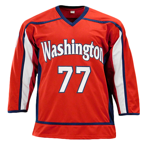 TJ Oshie Signed Washington Red Hockey Jersey (Beckett)