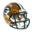 Davante Adams Packers Autographed CHROME Mini Speed Football Helmet (JSA)