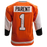 Bernie Parent Autographed Orange Hockey Jersey (JSA)